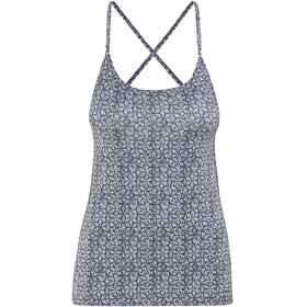 Patagonia W's Cross Beta Tank Batik Hex Micro: Birch White